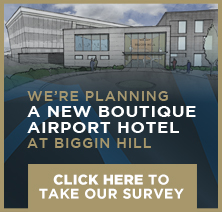 We're planning a new boutique airport hotel at Biggin Hill Airport