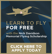 Learn to fly with the Nick Davidson Flying Scholarship